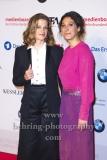 """""""DEUTSCHER FILMPREIS 2018 NOMINIERTENABEND"""", Marie Baeumer und Emily Atef (3 TAGE IN QUIBERON), Roter Teppich im BMW Haus, Berlin, 07.04.2018"""