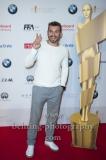 """""""DEUTSCHER FILMPREIS 2018 NOMINIERTENABEND"""", Moderator der Filmpreisgala Edin Hasanovic, Roter Teppich im BMW Haus, Berlin, 07.04.2018"""