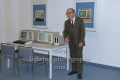 "Uwe Preuss, ""DEUTSCHLAND 89"", Photocall, Stasi-Zentrale Normannenstrasse, Berlin, 27.09.2019"