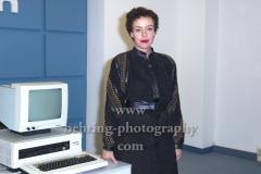 """Maria Schrader, """"DEUTSCHLAND 89"""", Photocall, Stasi-Zentrale Normannenstrasse, Berlin, 27.09.2019"""
