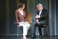 """Die Kameliendame"", Anouschka Renzi, Joachim Bliese, Fotoprobe im Schlosspark Theater (Urauffuehrung am 10.09.2017), Berlin, 06.09.2017 [Photo: Christian Behring]"
