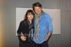 """Ina Paule Klink und Roland Suso Richter, """"Die VERWANDLUNG"""", Photocall zur Matinee, Astor Film Lounge, Berlin, 17.11.2019"""