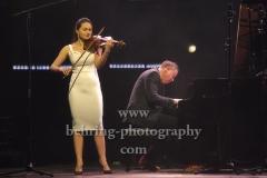 """Esther Abrami und Dirk Maassen, """"Dirk MAASSEN"""" (am 31.01.2020 erscheint sein Album """"Ocean""""), """"New Sound Of Classical"""", Konzert, Kesselhaus, Berlin, 30.01.2020"""