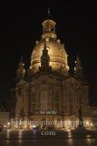 Frauenkirche Dresden (wiederaufgebaute und 2005 erneut geweihte Barockkirche) am Neumarkt, Dresden, 09.11.2020