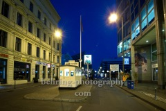 "Checkpoint Charlie, ""Lichtgrenze"", Berlin, 07.11.2014 (Photo: Christian Behring, www.christian-behring.com)"