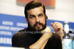 """Mario Casas (Schauspieler/ Actor), attends the """"El Bar / The Bar"""" Photo Call and Press Conference at the 67th BERLINALE, Berlin, 15.02.2017 [Photo: Christian Behring]"""