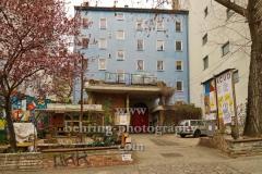 """Acud Kulturzentrum mit ACUDkino in der Veteranenstrasse 21, """"STADTANSICHTEN"""", Berlin, 02.04.2020"""