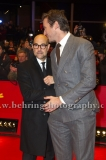 """Stanley Tucci, Armie Hammer , attends the """"FINAL PORTRAIT"""" - Red Carpet at the 67th Berlinale International Film Festival at the Berlinale-Palast on Frebruary 11.2017 in Berlin, germany"""