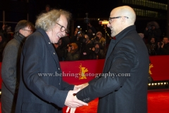 """Stanley Tucci, Geoffrey Rush, attend the """"FINAL PORTRAIT"""" - Red Carpet at the 67th Berlinale International Film Festival at the Berlinale-Palast on Frebruary 11.2017 in Berlin, germany"""