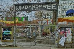 """Urban Spree, """"RAW-Gelaende an der Revaler Strasse"""", Berlin, 19.03.2020"""