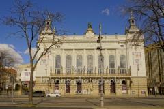 """Theater des Westens an der Kantstrasse, """"Verwaiste Plaetze und Orte"""", Berlin, 22.03.2020"""