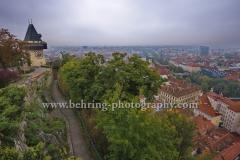 """""""Graz"""", auf dem Schlossberg, Landeshauptstadt der  Steiermark, 13.10.2015  [Photo: Christian Behring]"""