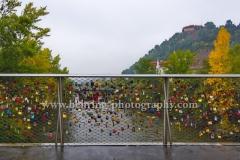 """Graz"", Hauptbruecke ueber die Mur, Landeshauptstadt Steiermark, 13.10.2015  [Photo: Christian Behring]"