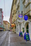 """""""Graz"""", Sackstrasse mit Kirche, Restaurents, Galerien, Landeshauptstadt der Steiermark, 13.10.2015  [Photo: Christian Behring]"""