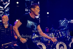 """David HASSELHOFF"", ""Freedom! The Journey Continues Tour 2019"", Konzert in der Max-Schmeling-Halle, Berlin, 03.10.2019"