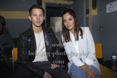 """HEILSTAETTEN"", Tim Oliver Schultz und Nilam Farooq, Photo Call und Interview, Exit Game Escape Room, Berlin, 07.02.2018 (Photo: Christian Behring)"