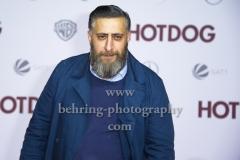 """""""HOT DOG"""", Kida Khodr Ramadan, Roter Teppich zur Welt-Premiere im Cine Star Potsdamer Platz, Berlin, 09.01.2018,"""