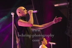 """THE HUMAN LEAGUE"", Phil Oakey, Konzert in Huxleys Neue Welt, Berlin, 12.11.2018,"
