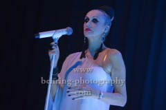 """THE HUMAN LEAGUE"", Susan Ann Sulley, Konzert in Huxleys Neue Welt, Berlin, 12.11.2018,"