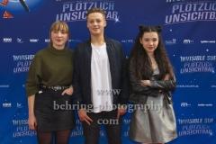"""Ruby M. Lichtenberg, Lui Eckhardt, Anna Shirin Habedank, """"INVISIBLE SUE"""", Berlin-Pemiere, Filmtheater Am Friedrichshain, Berlin, 20.10.2019"""