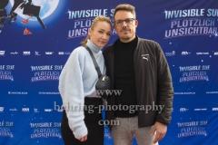 """Lisa Maria Potthoff und Ehemann Thorsten Berg, """"INVISIBLE SUE"""", Berlin-Pemiere, Filmtheater Am Friedrichshain, Berlin, 20.10.2019"""