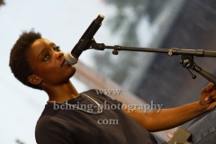 """""""IRMA"""" (Im Janauar 2020 soll ihr Album """"THE DAWN"""" erscheinen), Konzert beim """"Radioeins Parkfest"""", Park am Gleisdreieck, Berlin, 28.08.2019"""