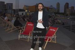 """Dimitrij Schaad, """"DIE KAENGURU-CHRONIKEN RELOAD3D"""", Open-Air-Premiere, Arte Sommerkino Kulturforum, Berlin, 16.06.2020"""