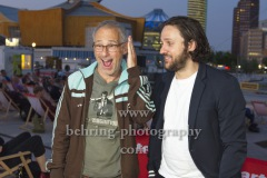 """Regisseur Dani Levy, Dimitrij Schaad, """"DIE KAENGURU-CHRONIKEN RELOAD3D"""", Open-Air-Premiere, Arte Sommerkino Kulturforum, Berlin, 16.06.2020"""