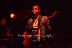 """Kid Colling Cartel"", Kid Colling (Gitarrist, Saenger), Konzert im HANGAR 49,  Berlin, 21.10.2018 (Photo: Christian Behring)"