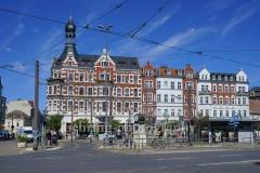 """Altstadt Koepenick am Schlossplatz, hinter Müggelheimer Straße, """"STADTANSICHTEN"""", Berlin, 06.05.2020"""