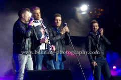 "The Baseballs and David Hasselhoff, ""Silvester in Berlin - Welcome 2015"", Silvesterparty am Brandenburger Tor, Berlin, 31.12.2014, (Photo: Christian Behring, www.christian-behring.com)"