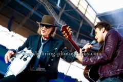 Udo Lindenberg mit Clueso, Konzert in der Red Bull Arena in Leipzig, Germany, am 13.06.2014 (Photo: Christian Behring, www.christian-behring.com)