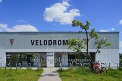 "Velodrom, Haupteingang, ""EUROPASPORTPARK"", Paul-Heyse-Straße 26, Berlin, 15.05.2020"