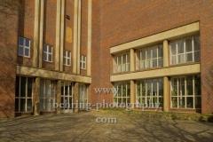 """Funkhaus Nalepastrasse, denkmalgeschuetzt, ehemaliger Sitz des Rundfunk der DDR mit grossem Sendesaal im Block B, """"STADTANSICHTEN"""", Berlin, 03.04.2020"""
