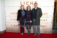 """LICHT"", Maria Dragus, Barbara Albert, Devid Striesow, Roter Teppich zur Berlin-Premiere im Delphi Filmpalast, Berlin, 17.01.2018 (Photo: Christian Behring)"