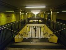 U-Bahnhof-Lichtenberg, geschlossen wegen streik