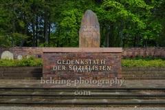 """Zentralfriedhof Friedrichsfelde, Gedenkstätte der Sozialisten, """"STADTANSICHTEN"""", Berlin, 30.04.2020"""