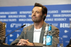 "Hugh Jackman (Schauspieler/ Actor), attends the ""LOGAN""- Photo call and Press Conference during 657th Berlinale International Film Festival at GRAND HYATT on February 17, 2017 in Berlin, Germany (Photo: Christian Behring, www.behring-photography.com)"