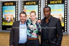 """LUCKY LOSER"", Peter Trabner, Emma Bading, Elvis Clausen, Photo Call zur Berlin-Premiere, Kino in der Kulturbrauerei, Berlin, 10.08.2017 (Photo: Christian Behring)"