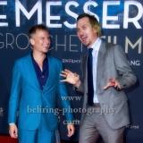 """""""MACKIE MESSER BRECHTS 3GROSCHENFILM"""", Lars Eidinger, Robert Stadlober, Roter Teppich zur Premiere am ZOO PALAST, Berlin, 10.09.2018 (Photo: Christian Behring)"""
