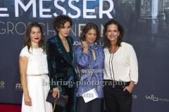 """""""MACKIE MESSER BRECHTS 3GROSCHENFILM"""", v.rechts: Claudia Michelsen, Britta Hammelstein, Peri Baumeister, Meike Droste, Roter Teppich zur Premiere am ZOO PALAST, Berlin, 10.09.2018"""