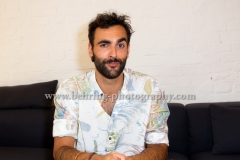 """MARCO MENGONI"", Photo Call und Interview, VEVO, Rosenthaler Strasse 51, Berlin, 28.08.2017 (Photo: Christian Behring)"