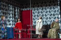 "Kathrin Angerer, Bernd Moss, Katrin Wichmann, Martin Wuttke, ""Melissa kriegt alles"", Deutsches Theater, Berlin, Premiere: 29.08.2020"