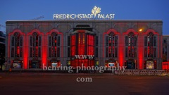 "Friedrichstadt-Palast, ""NIGHT OF LIGHT"", Aktion ""Night of Light"" ist ein flammender Appell an die Politik zur Rettung der Veranstaltungswirtschaft in Deutschland, Berlin, 22.06.2020"