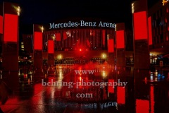 "Mercedes-Benz Arena, ""NIGHT OF LIGHT"", Aktion ""Night of Light"" ist ein flammender Appell an die Politik zur Rettung der Veranstaltungswirtschaft in Deutschland, Berlin, 22.06.2020"