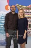 """OLYMPIA 2018"", Photo call zm Olympia-Programm von ARD und ZDF, ZDF-Team mit Marco Buechel, Katja Streso, Radisson Blu Hotel, Berlin, 12.12.2017,"