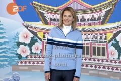 """""""OLYMPIA 2018"""", Photo call zm Olympia-Programm von ARD und ZDF, ZDF-Team mit Katrin Mueller-Hohenstein, Radisson Blu Hotel, Berlin, 12.12.2017,"""