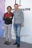 """""""OLYMPIA 2018"""", Photo call zm Olympia-Programm von ARD und ZDF, mit Peter Schlickenrieder, Sven Fischer, Radisson Blu Hotel, Berlin, 12.12.2017,"""