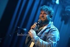 """""""Otto Normal"""", Peter Stoecklin (Leadsaenger), """"Wieder Wir Tour"""" (Record Release: 04.05.2018), Konzert im Privatclub, Berlin, 05.05.2018,"""