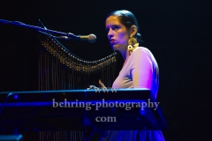 "Anna Pesquidous (Harfe), ""PARADISIA"", Konzert, Tempodrom, Berlin, 01.06.2019"
